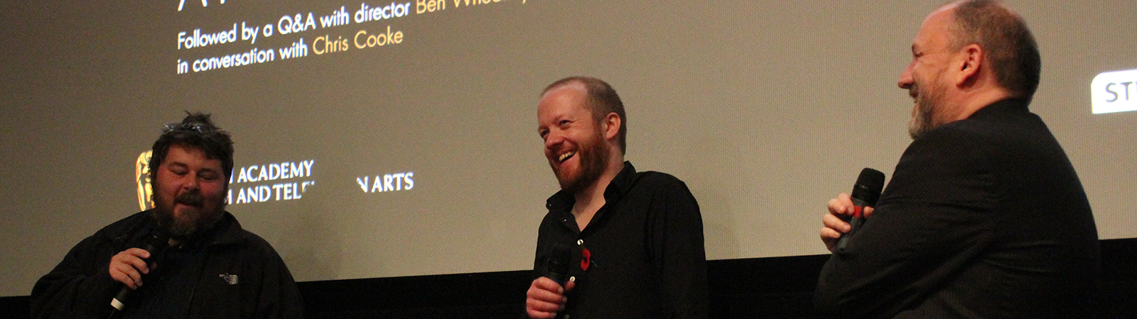 Ben Wheatley & Steve Oram (Sightseers) - Mayhem 2012