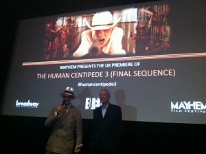The Human Centipede 3 UK Premiere