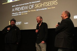 Ben Wheatley, Steve Oram and Mayhem's Chris Cooke