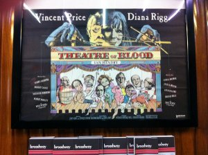 Theatre of Blood vintage poster - Mayhem 2011