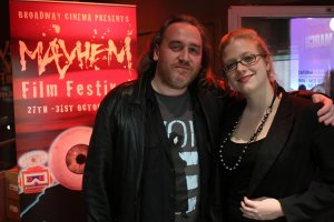 Sean Hogan and Jennifer Handorf at Mayhem 2011