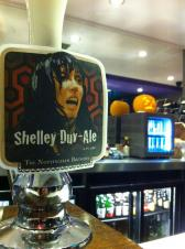 Our special guest beer 'Shelley Duv-ale'