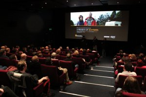 Packed out screening for BAFTA Sightseers event